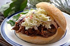 Foto Broodje pulled pork